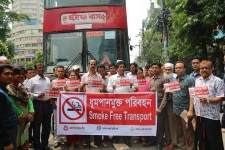 BRTC buses declared smoke free: initiative taken to protect more than 20 million passengers